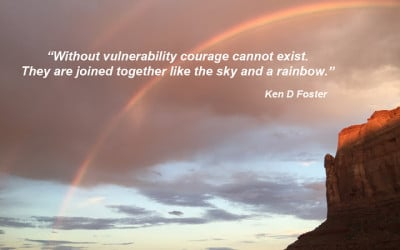 Without Vulnerability, Courage Cannot Exist